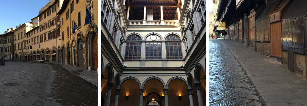 Open-Air Walking Tour of Florence by Florence private guide